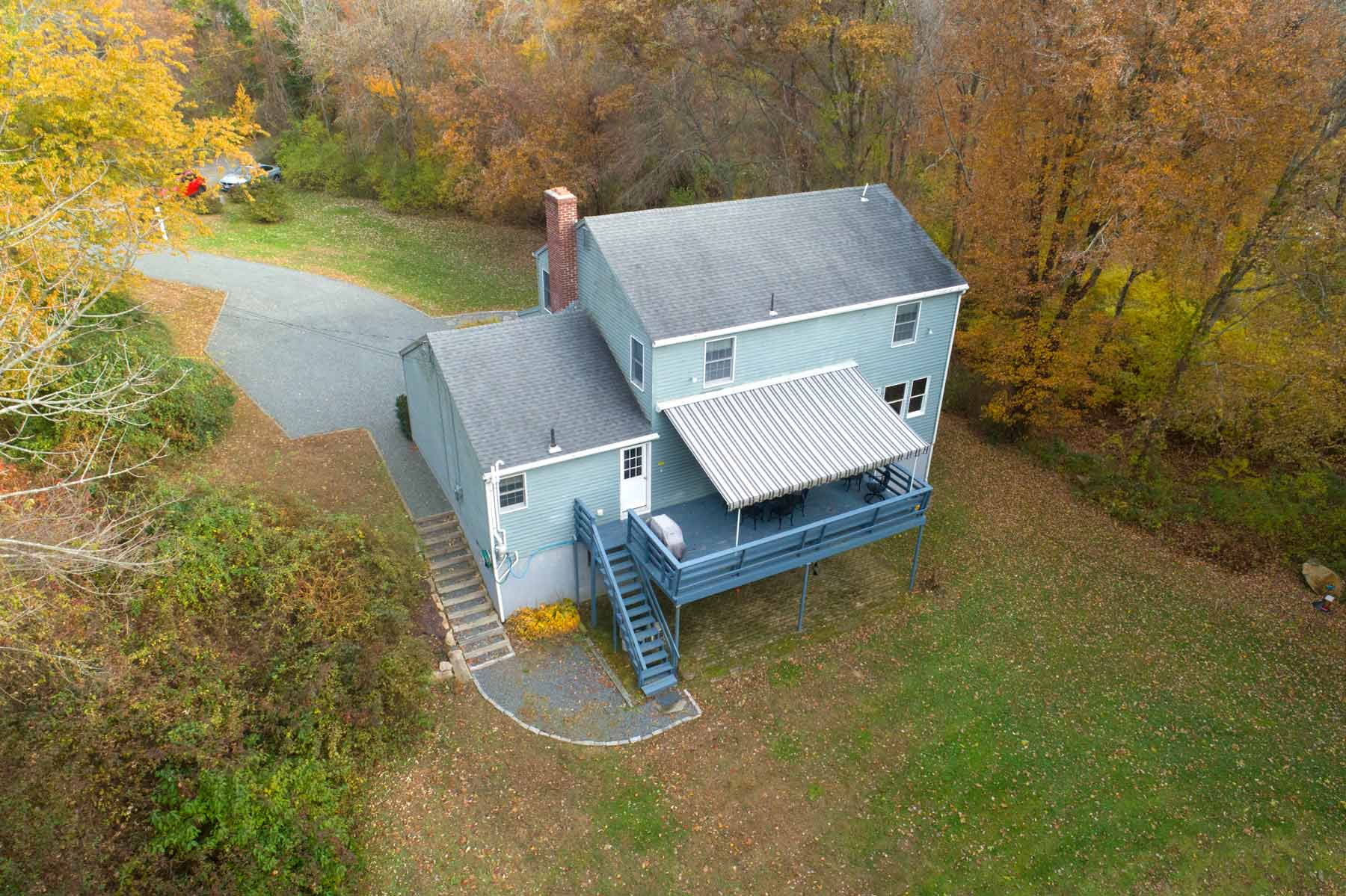Bird's-Eye View of Indian Lake House
